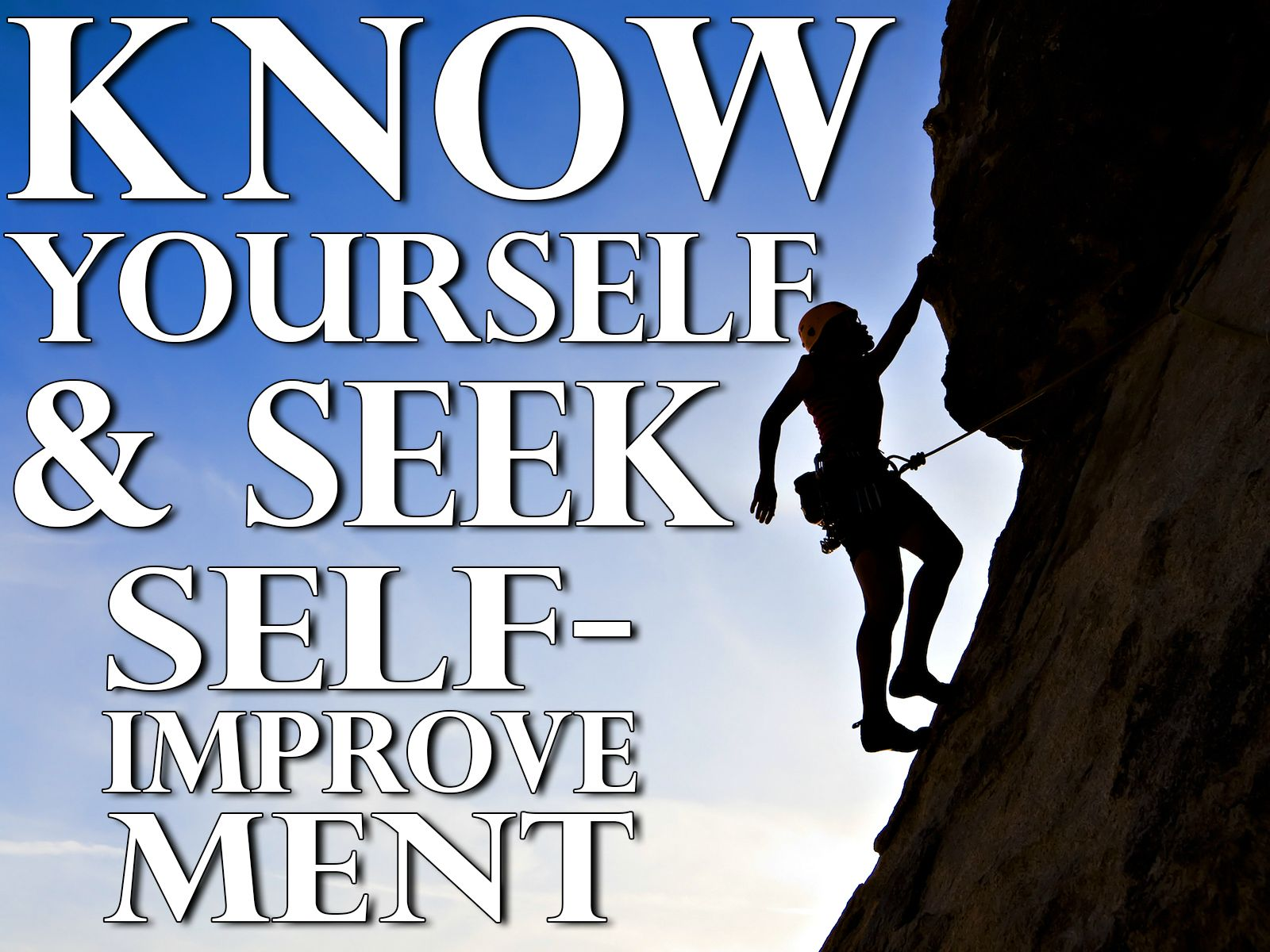 Self Improvement Essay  Barcafontanacountryinncom Know Yourself And Seek Self Improvement Essay Maus Essay Guilt